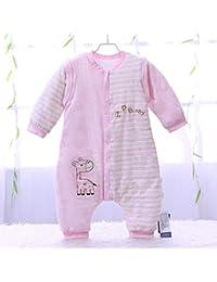 CWLLWC Saco de Dormir para bebé,Algodón de Dibujos Animados bebé Saco Las Patadas se