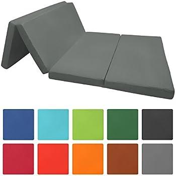 beautissu campix matelas pliable lit d 39 appoint de voyage en plusieurs coloris et tailles. Black Bedroom Furniture Sets. Home Design Ideas