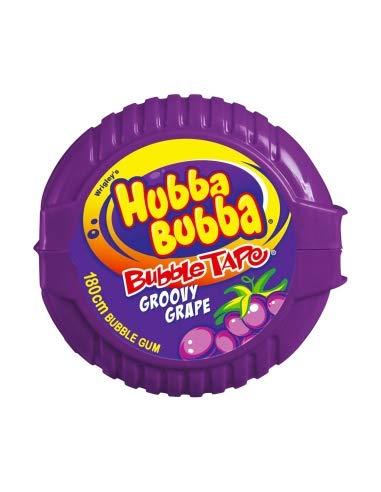 Wrigley Hubba Bubba Bubble Tape Traube x 12