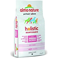 Almo Nature holistic dog adult medium mangime secco gusto salmone e riso kg.12