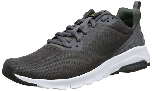 Nike Jungen Air Max Motion LW (GS) Sneaker, Grau (Dark Grey/Black-Vintage Green-Bright Cactus), 38 EU (Jungen Gs Sneakers)