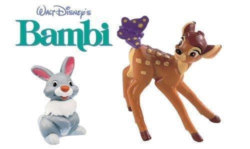 BULLYLAND Figuren Bambi DISNEY-Bambi und Klopfer-ideal zum Dekorieren von (Figuren Alter Disney)