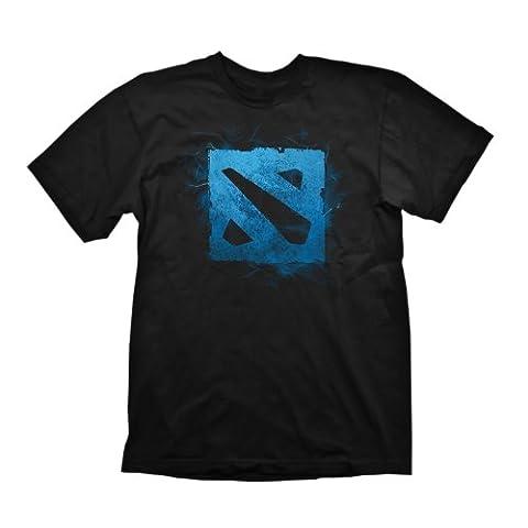 DEFENSE OF THE ANCIENTS DOTA 2 Logo Large T-Shirt Black
