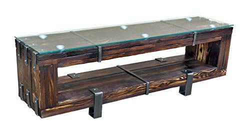 CHYRKA® Lowboard HiFi Massivholz TV Board BORYSLAW LEMBERG DROHOBYCZ Fernsehschrank Fernsehtisch TV Schrank (160 cm, BORYSLAW)