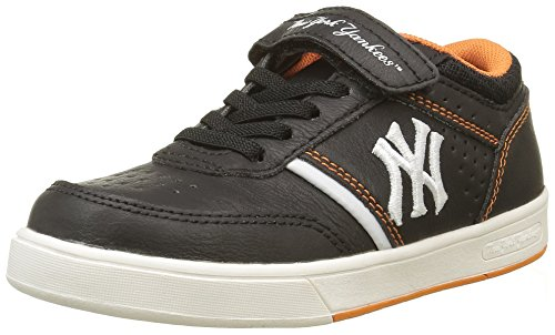 MLB Jungen Ferguson Low Sneaker Noir (Black/Jaffa Orange 170)