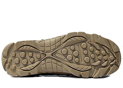 WZG Les nouveaux ventilateurs Armée de plein air bottes haut-dessus des bottes désert combat bottes militaires américains des forces spéciales mâles bottes tactiques bottes Marine terrain Black