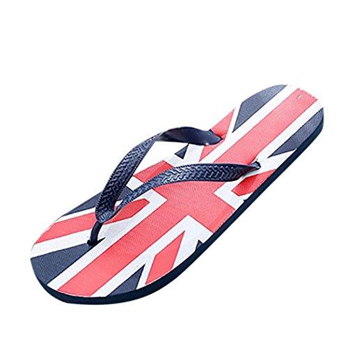 OYSOHE Hausschuhe für Herren, Männer Flagge Anti Skidding Camo/Unabhängigkeitstag Flip Flops Slipper Sandalen Strand Schuhe