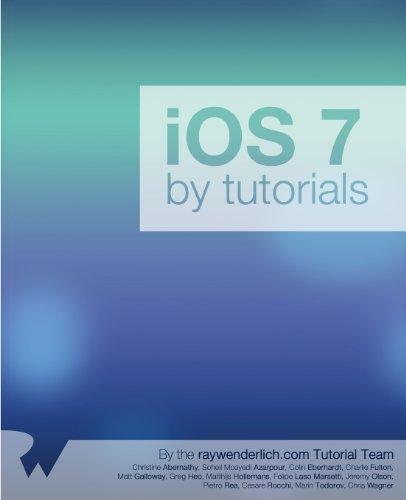 Preisvergleich Produktbild iOS 7 By Tutorials