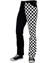 Ska Hose Pure Classic Style schwarz weiss