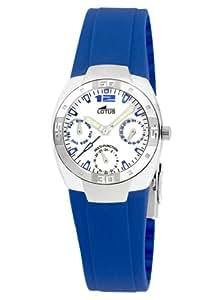 Lotus - 15342-5 - Montre Femme - Quartz - Bracelet Plastique Bleu