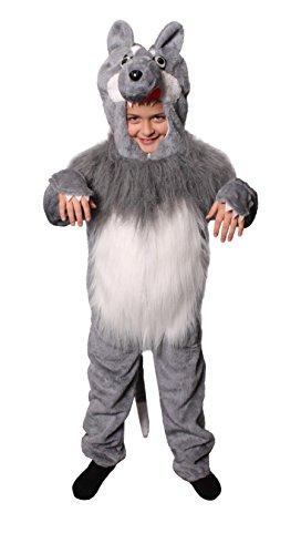 Imagen de lujo semana del libro de escuela niño y niña disfraz disponible en 4 tamaños dorado princesa conejo blanco zorro cocodrilo dálmata león lobo fábrica boss espantapájaros  lobo, large