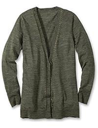 a791c9ae9c84 Amazon.it  Eddie Bauer - Cardigan   Maglieria  Abbigliamento
