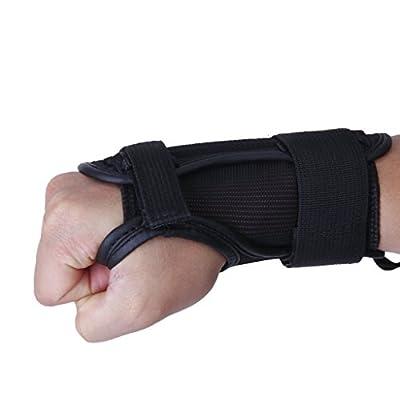 TOOGOO(R) 1 Paar Ski Snowboard Protektoren Handschuh Sport Handgelenk Unterstuetzung Schutz Pads stemmen