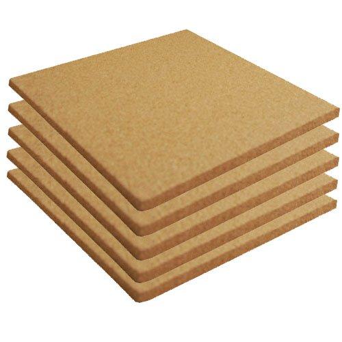 Kork Blatt 30,5x 30,5cm Uni 5Pack 3/32