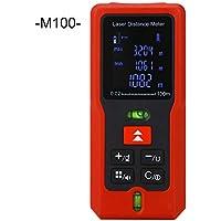 Laser-Entfernungsmesser-Portable Handheld-Digital-Laser-Entfernungsmesser Laser-Messung von Entfernung, Fläche, Volumen M-Serie