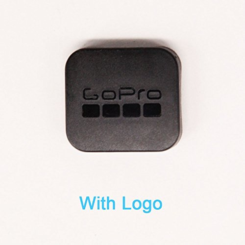 MEIBAI With Logo: Black Hard Plastic Protective Lens Cap Cover Protector For GoPro Hero 5 Hero 6 Black Edition Action Camera