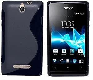 Luxury Back Cover FOR Sony Xperia E (PACK OF 3) + OTG CABLE FREE