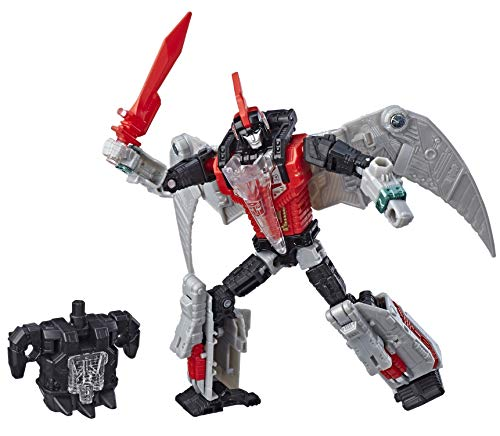 Transformers Generations Selects Deluxe Red Swoop - Exclusive