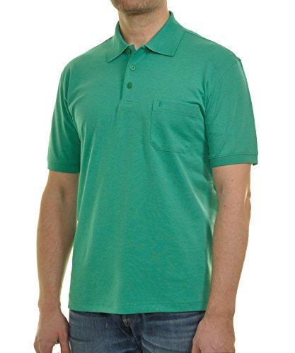 Preisvergleich Produktbild Ragman Kurzarm Softknit Poloshirt M,  Gras-grün-037