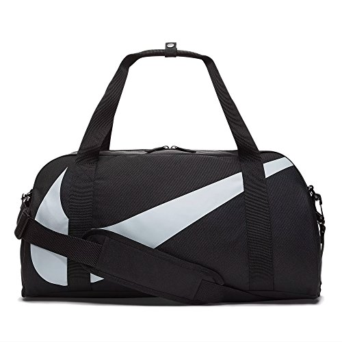 Nike Unisex Jugend Y NK Gym Club Klassische Sporttaschen, Black/Wolf Grey, 45 Centimeters