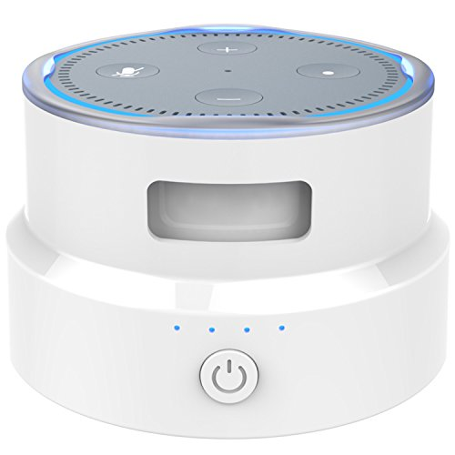 smatree-portable-battery-base-protective-cover-for-2nd-generation-echo-dot-white