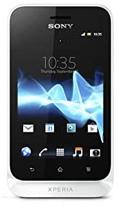 Sony Xperia Tipo Smartphone Google Android 4.0 (ICS) aGPS/GSM GPRS/EDGE Wi-Fi Mémoire interne 2,9 Go Blanc