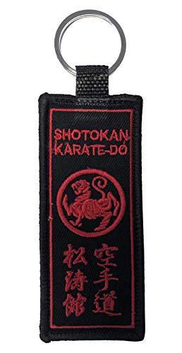 Budodrake - Llavero, diseño de Shotokan y Tigre