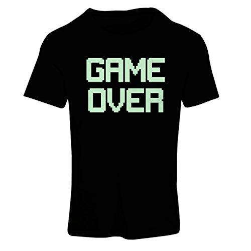 Frauen T-Shirt Spiel über lustige Gamergeschenke (Small Schwarz (Kostüme Yourself It Frauen Do)