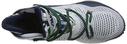 adidas Crazy Explosive, Scarpe da Basket Uomo Multicolore (Ftwwht/Conavy/Mgsogr)