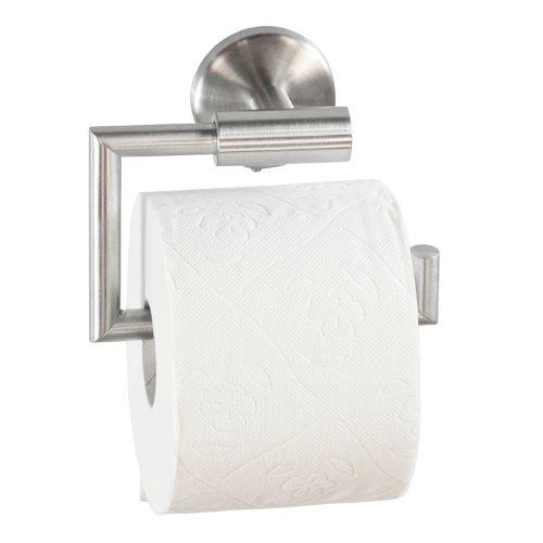 Lumaland hochwertiger Edelstahl Toilettenpapierhalter extra stark (Feste Rollenhalter)