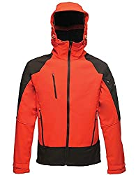 Regatta Herren PowerGrid Xpro Peformance Jacket Jacke, Red (Pepper/Black), XXL