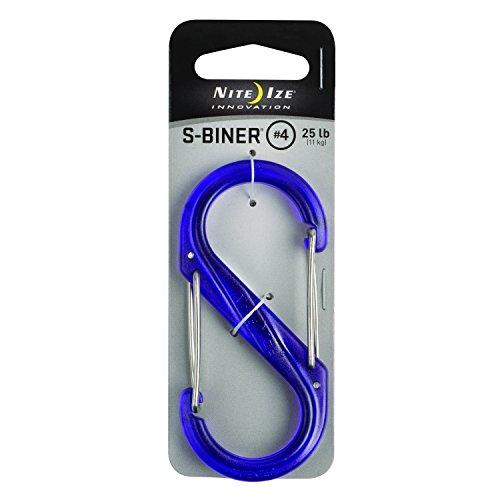 Nite Ize S-Biner Plastique Size-4 Double-gated Mousqueton