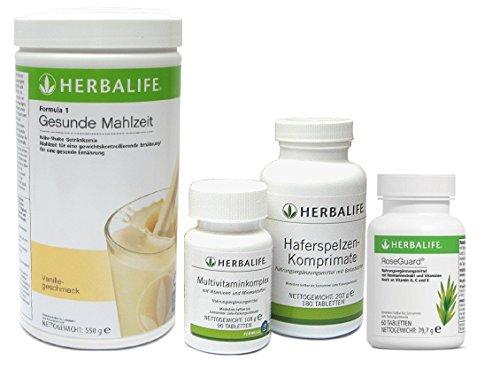 Vitamin Ballaststoffe (Herbalife Quickstart - Ernährungsprogramm mit Protein, Vitaminen und Ballaststoffen - 4teilig - 6 Geschmacksrichtungen zur Auswahl)