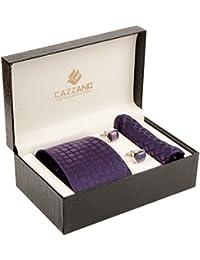 Cazzano Checkered Men's Tie Set (TCPNC189)