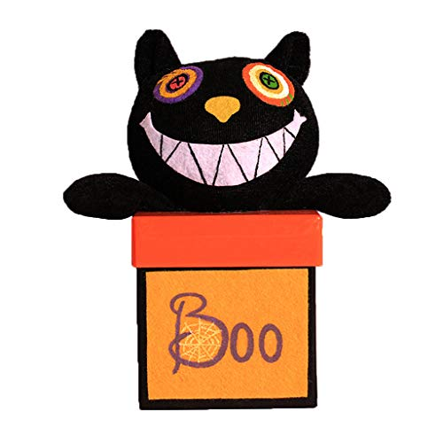 y Bags Süßigkeitstasche Candy Totes Bag Kostüm Zubehör Totes Bag,Stoff, Papier (B # Schwarze Katze) ()