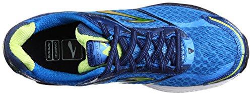 Brooks Herren Ghost 7 Sportschuh Blau (Electric Blue Lemonade/Lime Punch/Peacoat Navy)
