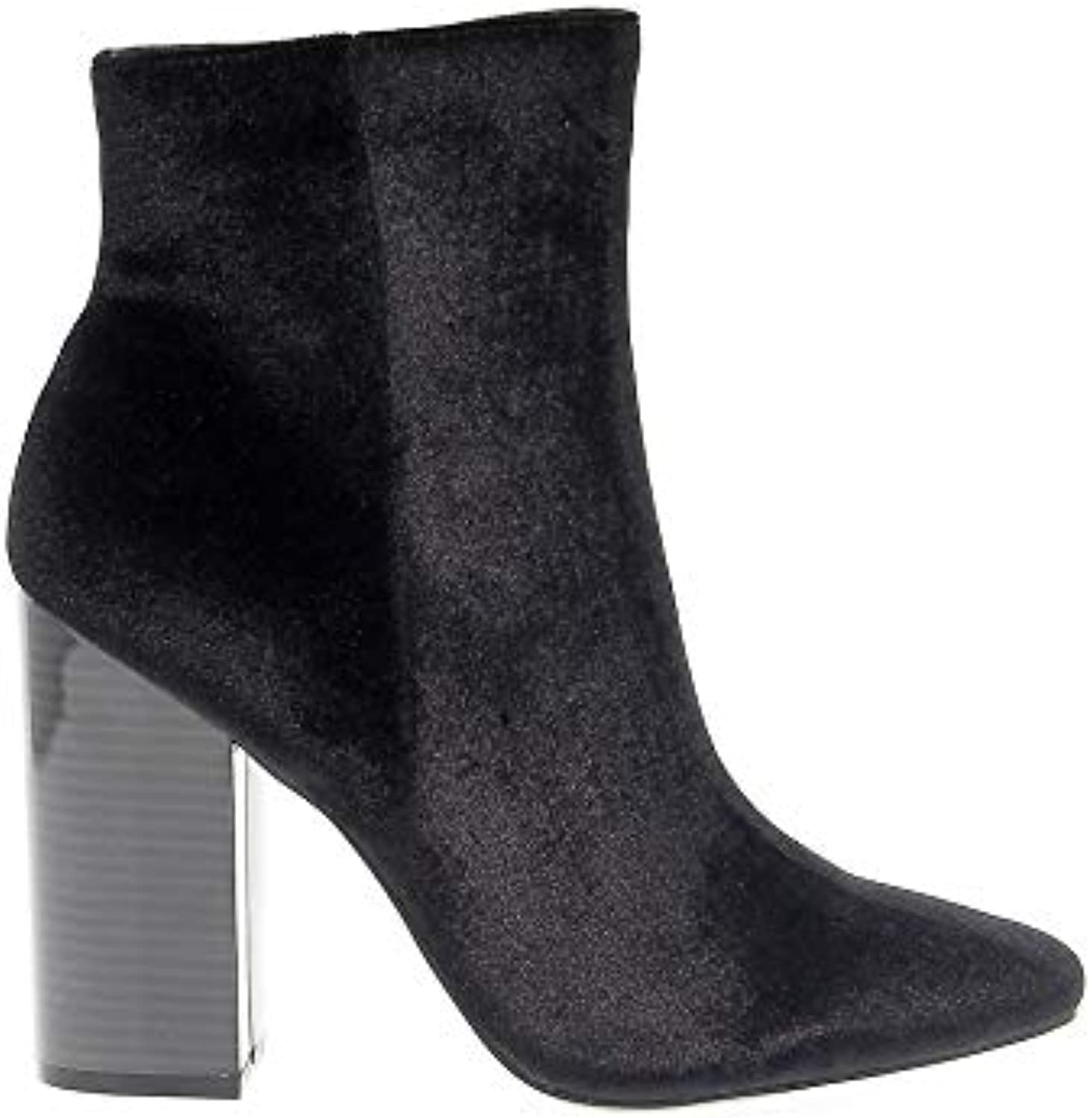 8ee354c02133 Windsor Smith Women s WINDVERA Black Velvet Velvet Velvet Ankle Boots  B07HGGJG5B Parent f0d9b0