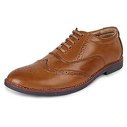Adreno Mens Brogue Formal Shoes [ADRBROGUE] - 8 UK/IND