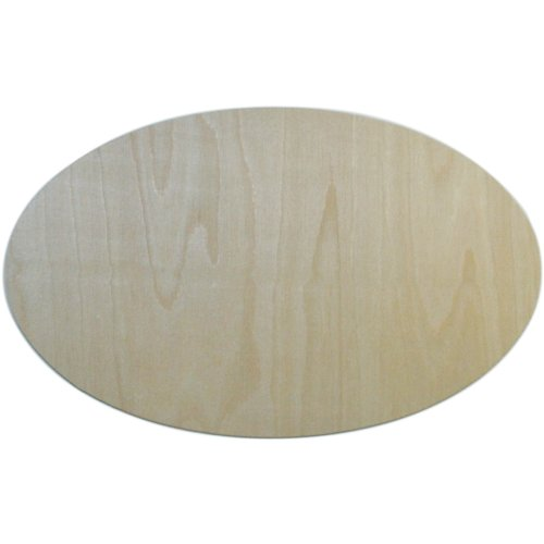 MPI Baltic Birch Plaque-Oval