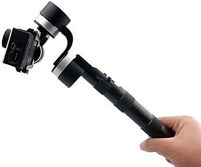 Zhiyun Z1 pround 3-ejes Portátil Estable Cardán PTZ Cámara Estabilizador de Monte de disparo del obturador para GoPro Hero 4 Plata Negro 3+ 3 2 1 SJ4000 / 5000/6000/7000
