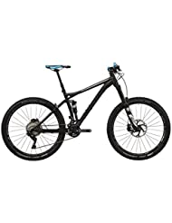 "VOTEC VM Elite - All Mountain Fully 27,5"" - anodized black matt/dark grey glossy Tamaño del cuadro XL / 53 cm 2017 MTB doble suspensión"