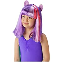Rubies s oficial My Little Pony Twilight Sparkle peluca del niño Fancy Dress Accessory (