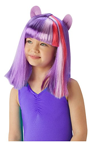 Rubie 's Offizielle My Little Pony Twilight Sparkle Perücke Kind Fancy Kleid Accessory (One Size) (Cartoon Charakter Fancy Dress Kostüme Uk)