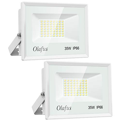 Olafus 2 Paquetes Focos LED Exterior 35W