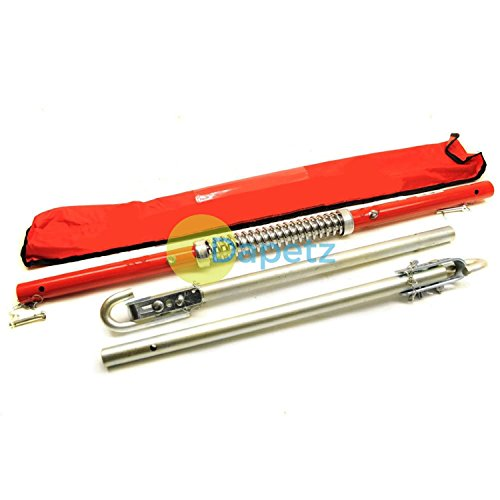 Dapetz ® 2 Ton Recovery Tow Bar Towing Pole Spring Damper Automotive Car Recover