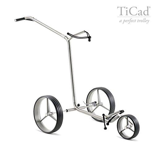 TiCad Andante - Chariot à pousser à 3 roues en titane,...