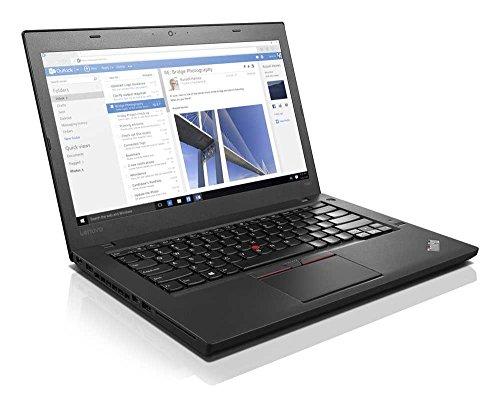 """ThinkPad T460 Intel Core i5-6300U 2.40 GHz RAM 8 GB 256 GB Solid State Camera 14"""" 1920 x 1080 Win 10 Pro 64 bit French Black"""
