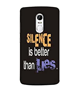 Digiarts Designer Back Case Cover for Lenovo Vibe X3 (Saying Quotation Teaching Learn)