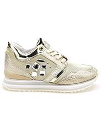 katt_brand Zapatillas Para Mujer, Color Dorado, Talla 39