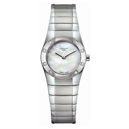 CERTINA WOMEN'S DS MINI SPEL 26MM STEEL BRACELET QUARTZ WATCH C322.7156.49.90